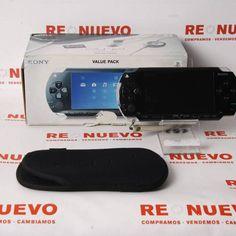 #Consola #PSP con funda E269590 de segunda mano | Tienda de Segunda Mano en Barcelona Re-Nuevo #segundamano