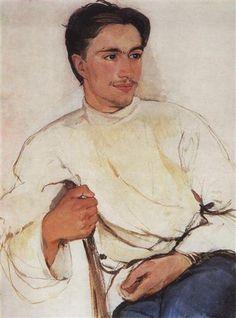 Portrait of a student - Zinaida Serebriakova