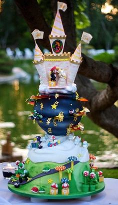 Bad Ass Wedding Cakes