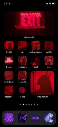Ios App Design, Iphone App Design, Iphone App Layout, Organize Apps On Iphone, Iphone Wallpaper Ios, Iphone Home Screen Layout, Apple Icon, Ideas Para Organizar, Ios App Icon