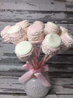 Fiesta Baby Shower, Baby Shower Favors, Shower Party, Baby Shower Parties, Bridal Shower, Chocolate Dipped Marshmallows, Marshmallow Dip, Chocolate Covered, White Marshmallows