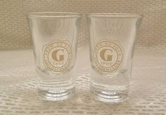 Two Goldschlager Shot Glasses Show Us Your G Spot