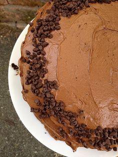Recipe: Super Moist Fudgy Two Layer Chocolate Cake