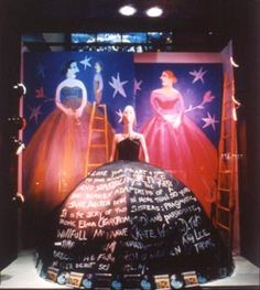 Sony window and Pucci mannequin designed by Maira Kalman. Love it!