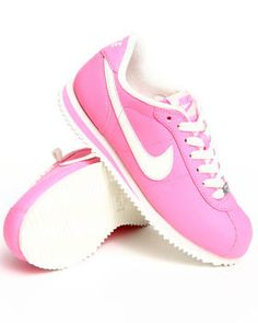 hot pink nike cortez