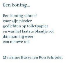 Marianne Busser en Ron Schröder  (uit: 'Ik zoek een woord' samengesteld door Hans en Monique Hagen)
