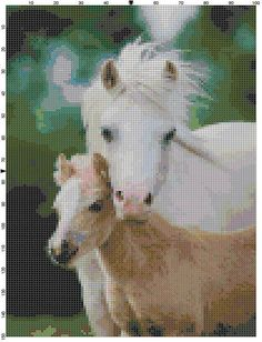 Cross Stitch Pattern A Mother's Love Mare by theelegantstitchery