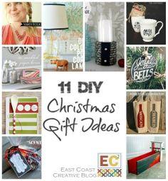 diy Christmas gifts | East Coast Creative: 11 DIY Christmas Gift Ideas