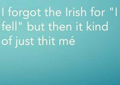 17 times Irish people proved Gaeilge is the funniest language Irish Memes, Funny Irish, Gaelic Words, Learning Languages Tips, Irish Language, Irish People, Irish Roots, One Liner, Classroom Displays