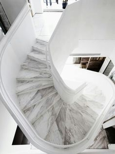 MARBLE. STAIRS.