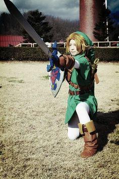 Link cosplay by BATENlove | #Zelda #OoT