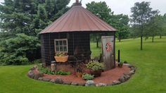 Turn an old corn crib into a gazebo