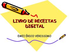 Livro de receitas digital