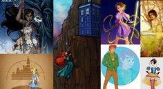10 Amazing Artist Renditions of Disney Characters Yes.