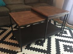 ikea restyle: vittsjo hack | ikea hack, living rooms and apartments