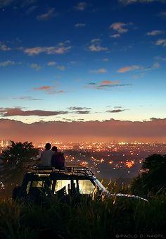 Metro Manila Skyline from San Mateo
