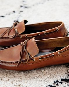Great driving loafers. Cole Haan w/ Nike Air technology. In fact they're sitting in my closet right now -- this exact same color. I wear them very often. They're extremely comfortable and hold up pretty well in city conditions. I recommend wearing without socks.