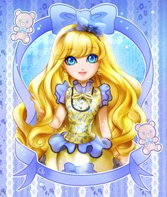 BLONDIE LOCKES - Ever After High by KagomesArrow77.deviantart.com on @deviantART