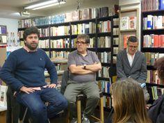 Malcom Otero, Eduardo Lago e Ismael Grasa.