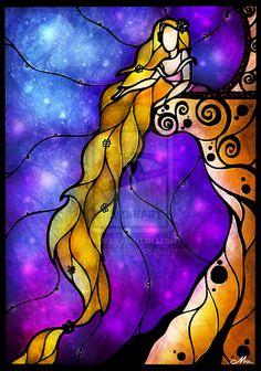 Fan Art Friday #27 – Stained Glass Disney Art by Mandie Manzano | Nerdist