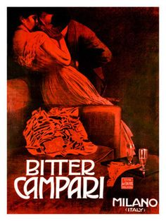 Bitter Campari, c.1921 Stampa giclée
