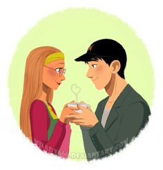Cup of Love by Milady666 aww those two are so cute- where did it say they had a relationship? He could have been into Go Go for all we know.