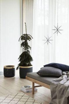 De la simplicité en veux-tu en voilà pour un Noël cocooning et nordique