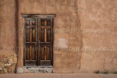 Old Rustic Wood Doors, Santa Fe,...  Like, repin, share Thanks!