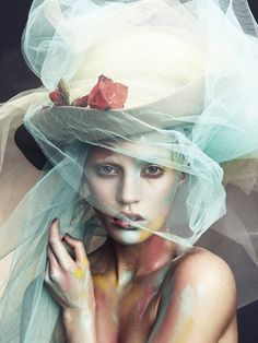 Magical Hats.  Veil