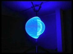 Alex Posada: The Particle, Responsive KInetic Light Sculpture 2009