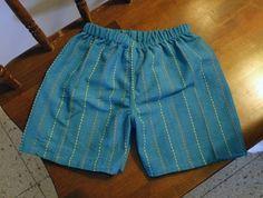 diy - tea towel shorts