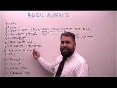 Bible Numerics - YouTube (36:29) Uploaded February 11th 2016