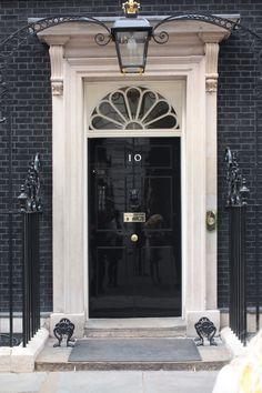 10 Downing Street front door