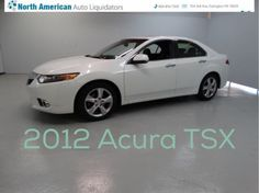 Car of the day. 2012 Acura TSX W/Tech  with 23,085 for $20,491