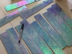 how to make stained glass in volume #StainedGlassHowToMake