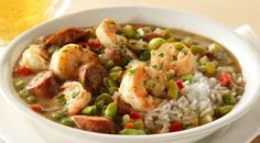 Check out this delicious recipe for Shrimp and Sausage Gumbo  from Weber—the world's number one authority in grilling.