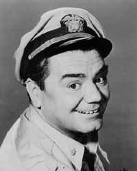 Ernest Borgnine served in the U.S. Navy for twelve years before WWII as a Gunners Mate 1933-1945