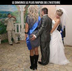 Le divorce le plus rapide de l'histoire