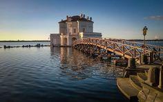 Naples - Casina Vanvitelliana. Hunting lodge on the lake Fusaro, near Naples, ordered by Bourbon kings of Naples to Luigi and Carlo Vanvitelli.