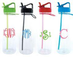 Monogrammed Bright Eastman Water Bottle