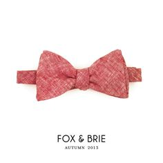 Red+Chambray+Bow+Tie+by+FoxandBrie+on+Etsy,+$48.00