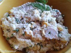 Boskie połączenie #kuskus i #kurczaka oraz #kukurydzy. Przepis na szybką #salatke :)