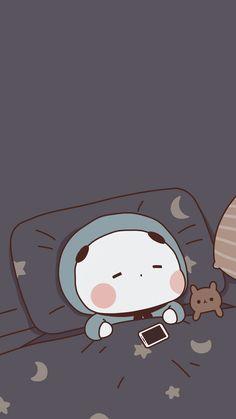 Cute Panda Wallpaper, Cute Pastel Wallpaper, Anime Scenery Wallpaper, Bear Wallpaper, Cute Patterns Wallpaper, Emoji Wallpaper, Kawaii Wallpaper, Cute Wallpaper Backgrounds, Wallpaper Iphone Cute