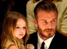 David Beckham & Family ER.VG ELIOT RAFFIT Salutes a Father's Love