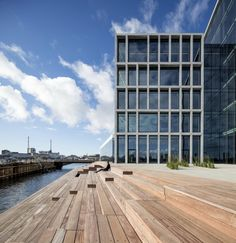 C. F. Møller. BESTSELLER, OFFICE COMPLEX, Aarhus, Denmark. Офисный комплекс компании Bestseller © Adam Mørk