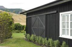 Barn exterior - sliding door