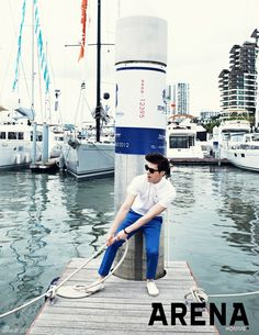 Lee Dong Wook for Arena Homme