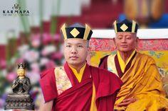 Sa Sainteté Karmapa. Tibétains en exil. Bouddhisme tibétain.