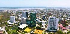 Modernos edificios al Norte de Barranquilla