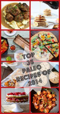 Top 35 Paleo Recipes of 2014 -  www.savorylotus.com #paleo #recipes